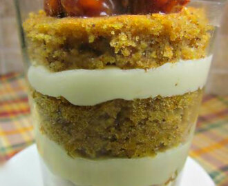 Mini Caramel Pumpkin Parfaits