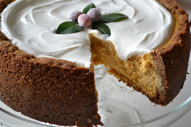 Pumpkin Cheesecake: Paula Deen, #24 of Gourmet's 50 Women Game Changers