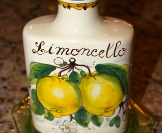 Lemons and Limoncelllo from Italy's Amalfi Coast