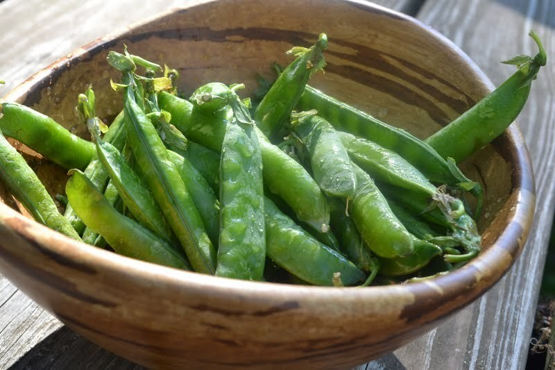 What to do with fresh peas