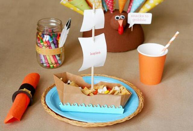 Thanksgiving: Ship Craft Ideas