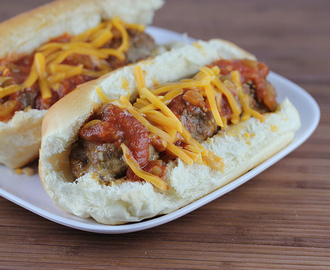 Mexican Meatball Subs Recipe