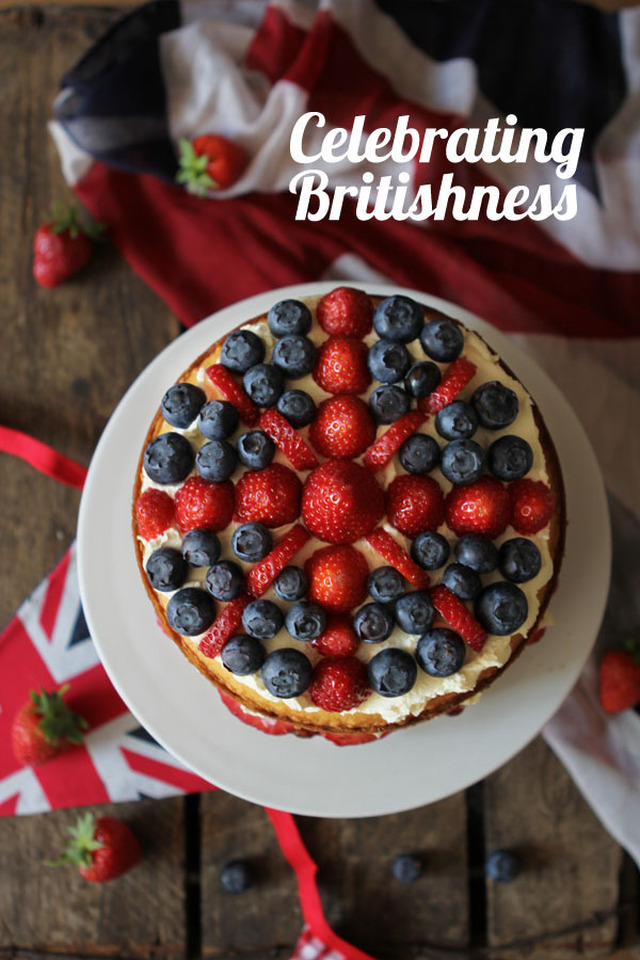Britannia sandwich cake - Best of British