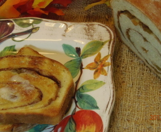 Buttermilk Cinnamon Sugar Raisin Bread With Apples (NOT) #TwelveLoaves