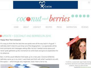 Coconut and Berries