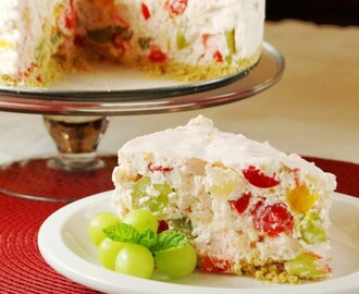 Fruit Salad Cheesecake