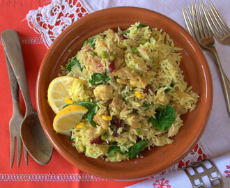 Recipe: Fruity Turkey Biryani