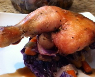 Butterflied Herbed Chicken with Roasted Fall Vegetables