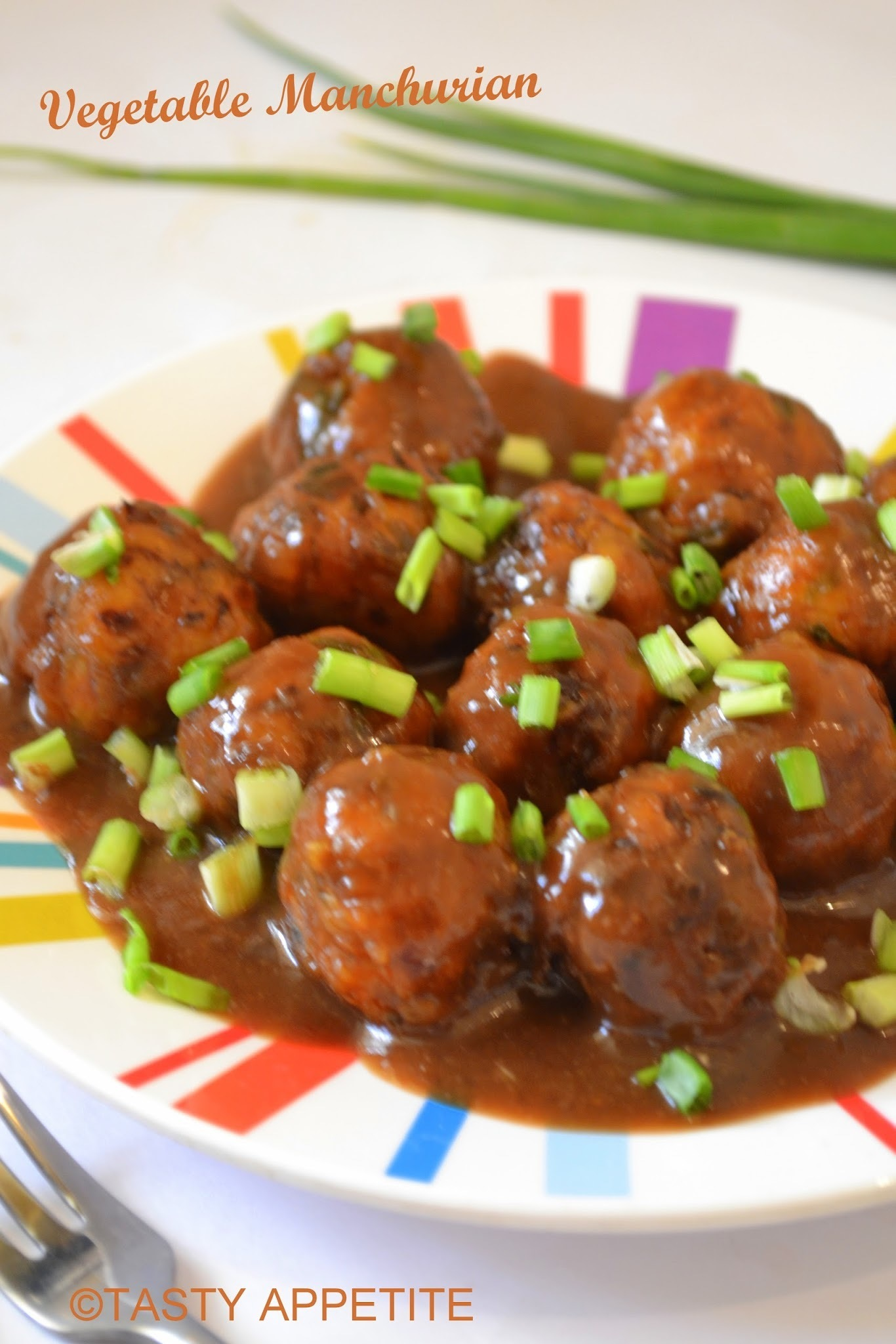 Vegetable Manchurian / Easy Step by Step recipe: