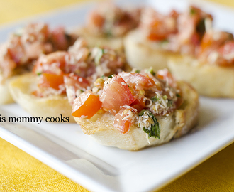 Bruschetta {cooking club}