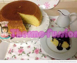 BIZCOCHO DE MANDARINAS THERMOMIX Y FUSSIONCOOK TOUCH ADVANCE
