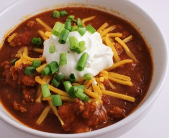 Quick and Easy Turkey Chili