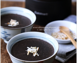 Black Sesame Paste With Almonds Using Cuisinart Hot And Cold Blender