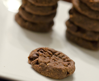 Flourless Chocolate Peanut Butter Cookies {Sweet Treat Tuesday and Gluten Free!}