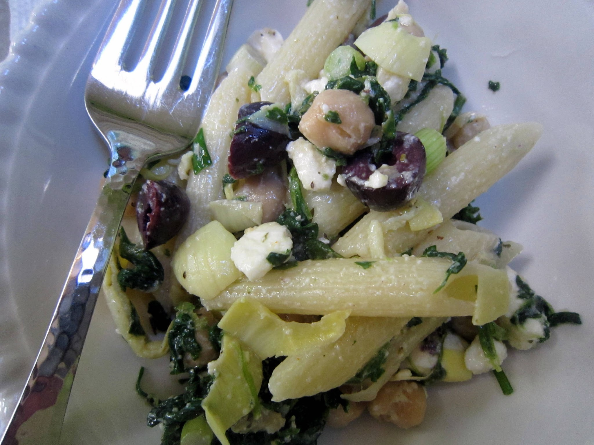 It's all Greek to me! (Pasta Salad)