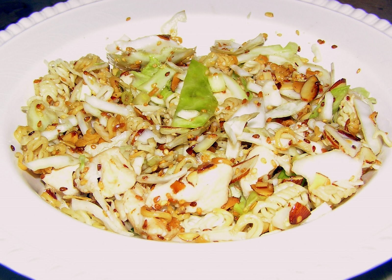 Cruchy Asian Chicken and Noodle Salad