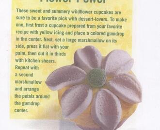 """F"" is for Flower Cupcakes"