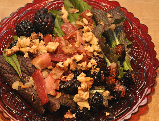 Salad with Figs and Prosciutto