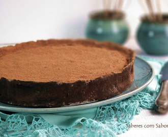 Tarte de Alfarroba   {do Algarve}