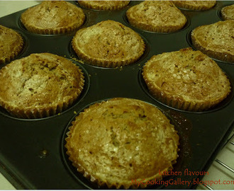Kahlua and Cream Muffins