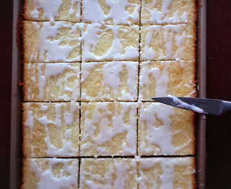 RECIPE: Box Cake Lemon Bars