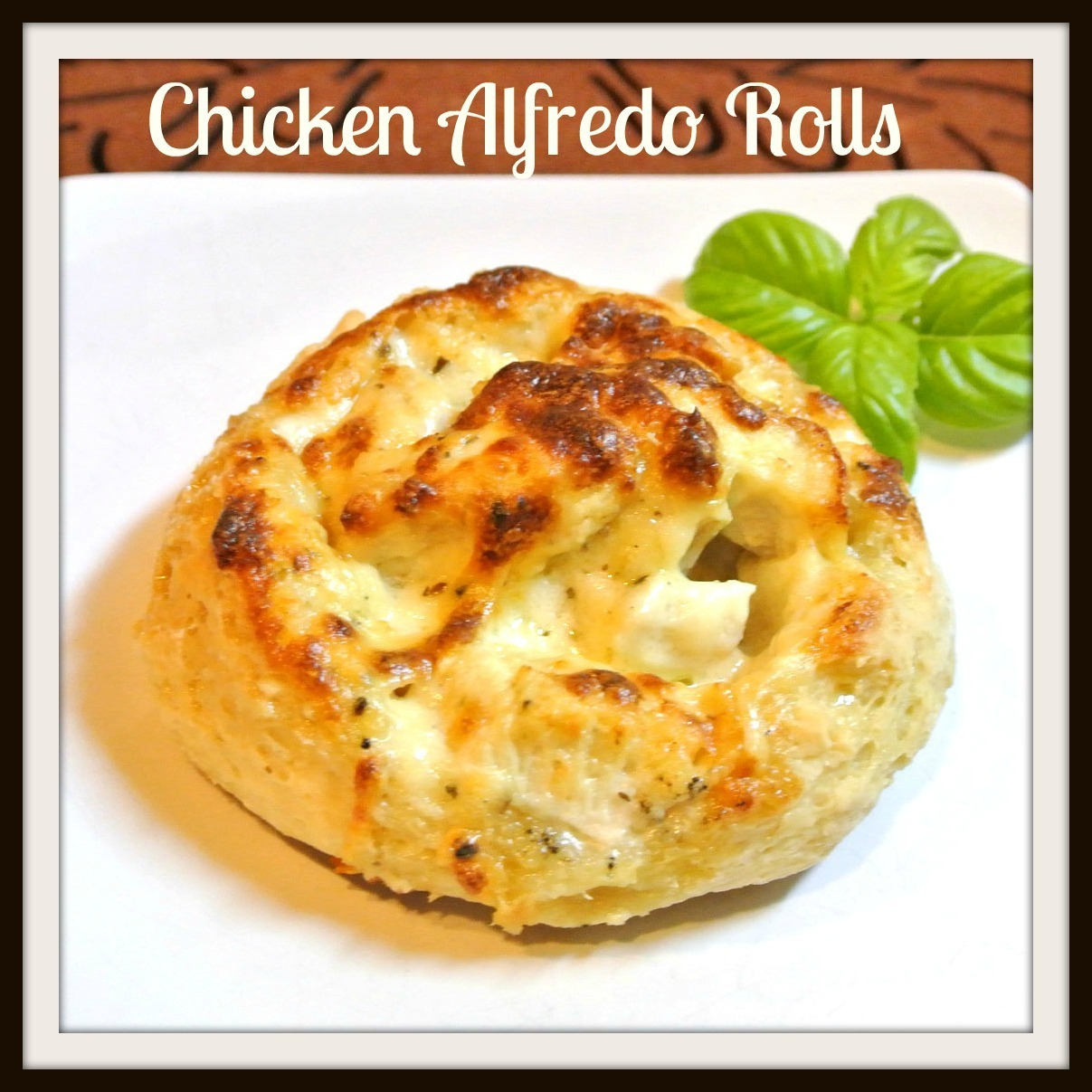 Chicken Alfredo Rolls and Giveaway