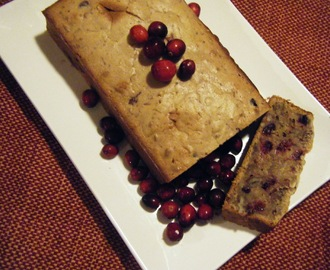 Cranberry-Pecan Bread