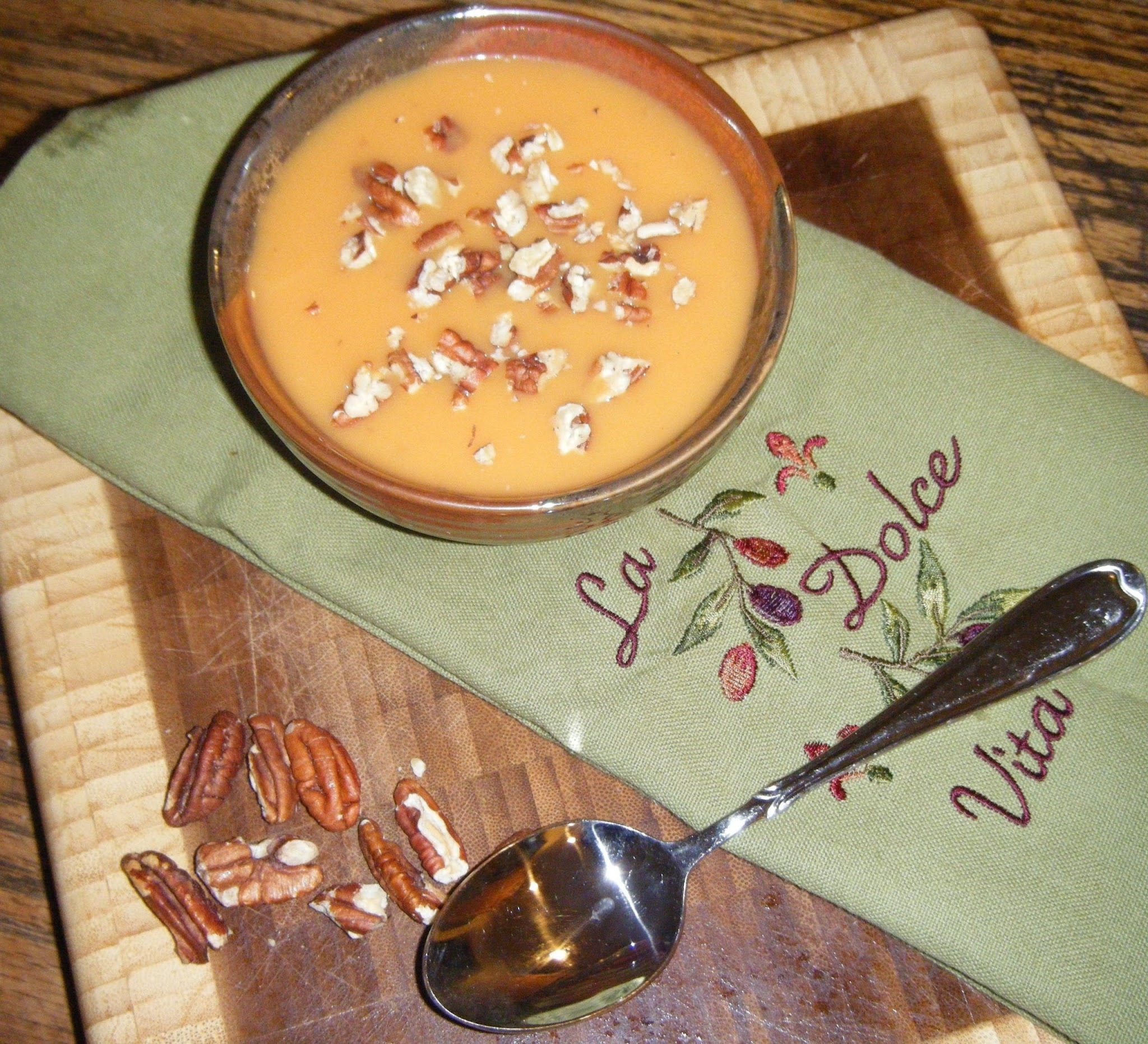 Weight Watcher Wednesday- Sweet Potato Soup