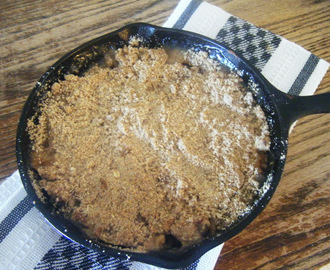 Weight Watcher Wednesday-Pear Crisp