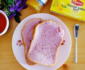 Purple Sweet Potato Milk Loaf
