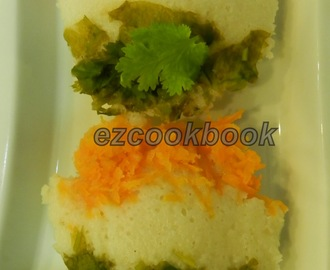 TriColor Idli / Dosa - Republic Day Special