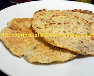 Tortilla Mexicana low carb e sem glúten