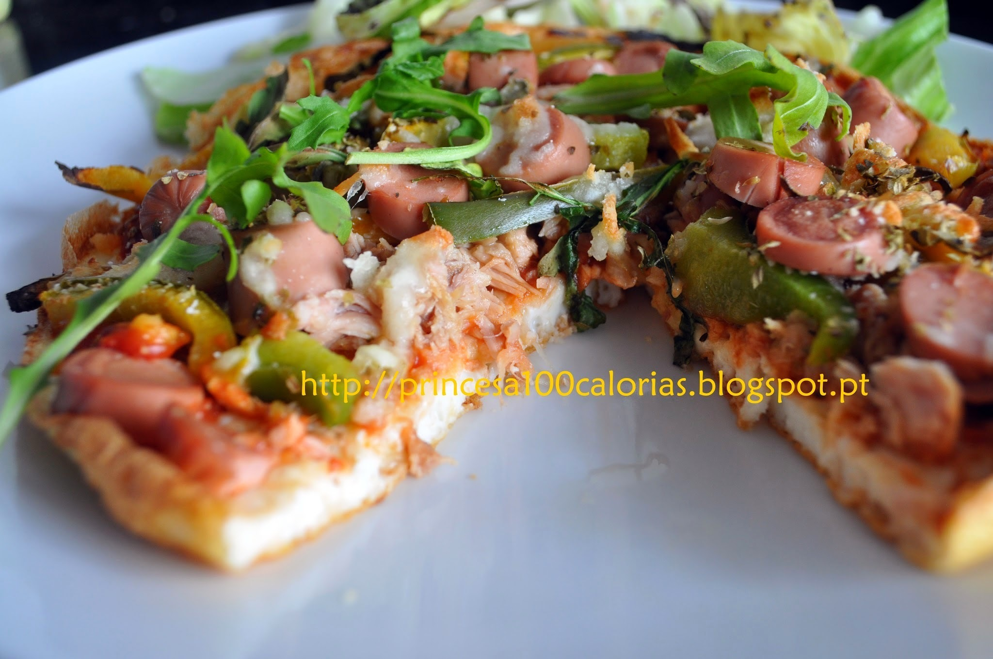"""Pizza"" base de claras"
