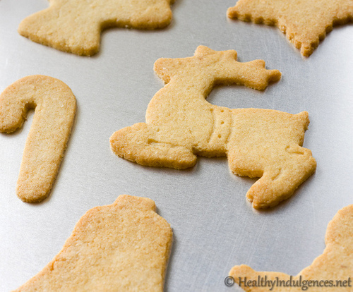 Sugar-Free Sugar Cookies for a Healthy Christmas Treat