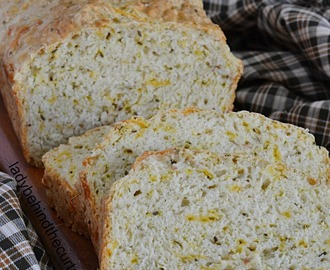 Dill Cheese and Beer Quick Bread