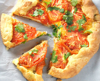 Cheese Tomato Galette Recipe
