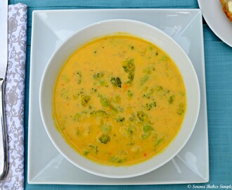 Broccoli Cheddar Cheese Soup Gluten Free