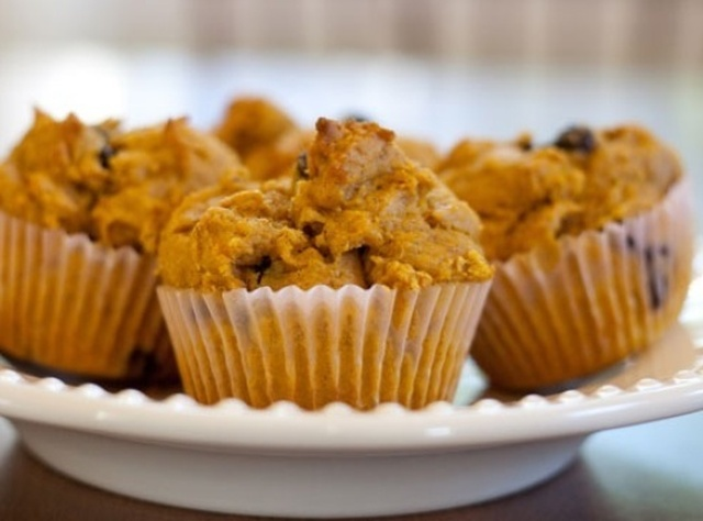 How to Make Pumpkin Chocolate Chip Muffins
