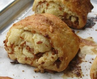 Armenian Pastry ~ Nazook With Toasted Coconut