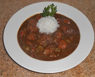 Cajun Turkey Neck Filé Gumbo
