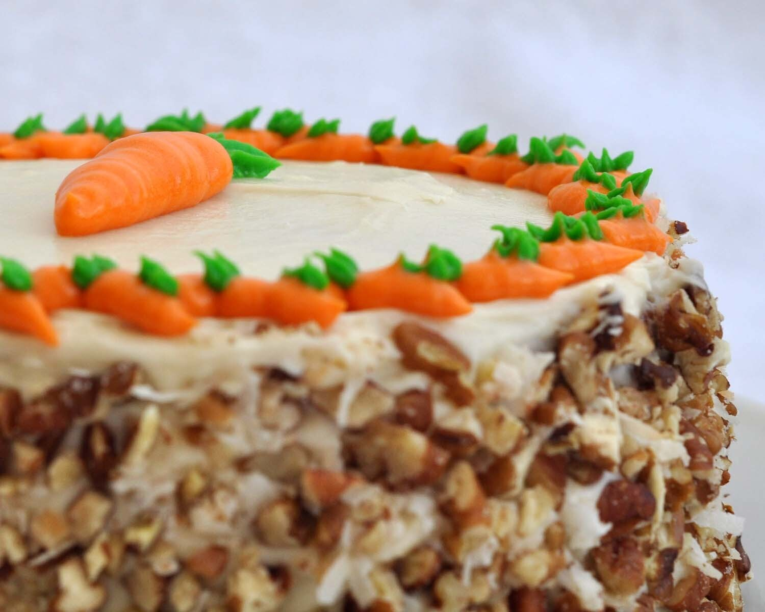 Carrot Cake with Cream Cheese Frosting {Recipe}