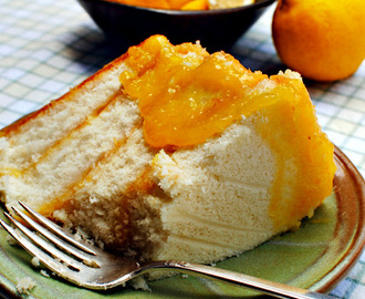 Lemon Cheese Cake -- A Taste of the South