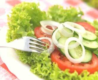Cucumber-Vegetable Salad