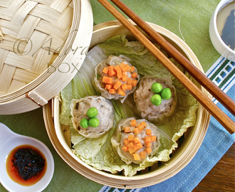 PORK AND PRAWN SIOMAI