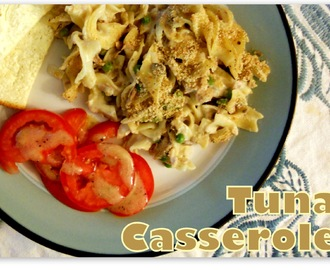 An All American Classic: Tuna Casserole