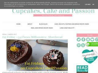 Cupcakes, Cake and Passion