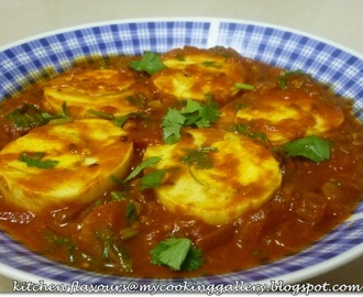 Hard-Boiled Eggs Masala : IHCC
