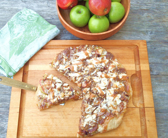 The Ultimate Caramel Apple Pizza