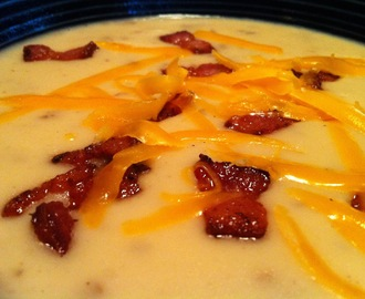 Delicious Potato Soup - In The Crockpot!