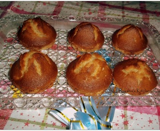 Wheat Flour Cup Cakes With Nuts
